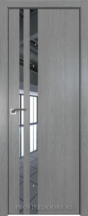 16ZN Грувд серый Зеркало Black Edition с 4-х сторон