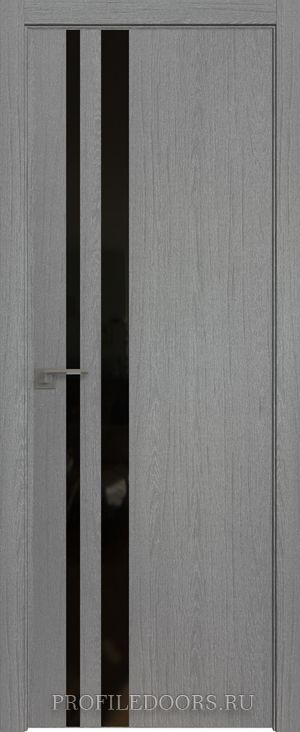 16ZN Грувд серый Lacobel Черный лак ABS в цвет с 4-х сторон