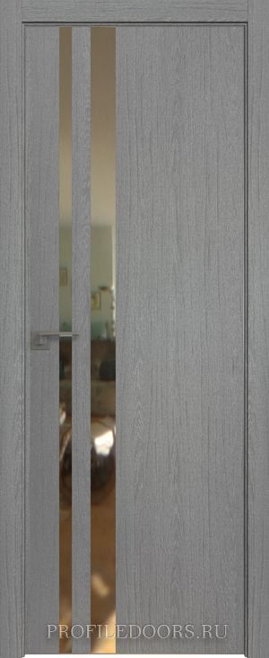 16ZN Грувд серый Зеркало Матовая с 4-х сторон