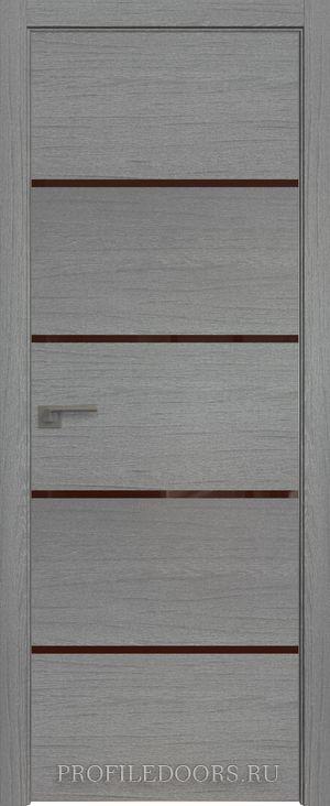 20ZN Грувд серый Lacobel Коричневый лак Матовая с 4-х сторон