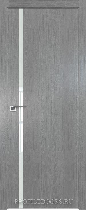 22ZN Грувд серый Lacobel Белый лак ABS в цвет с 4-х сторон