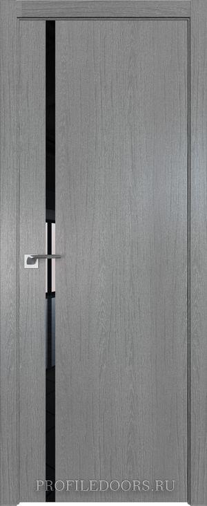 22ZN Грувд серый Lacobel Черный лак ABS в цвет с 4-х сторон