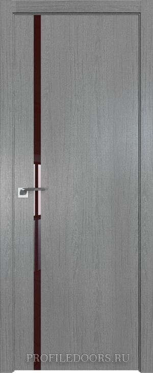22ZN Грувд серый Lacobel Коричневый лак ABS в цвет с 4-х сторон