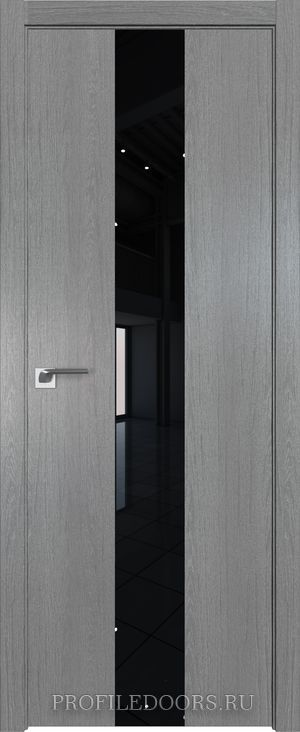 25ZN Грувд серый Lacobel Черный лак ABS в цвет с 4-х сторон