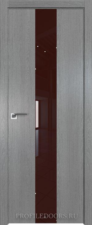25ZN Грувд серый Lacobel Коричневый лак ABS в цвет с 4-х сторон