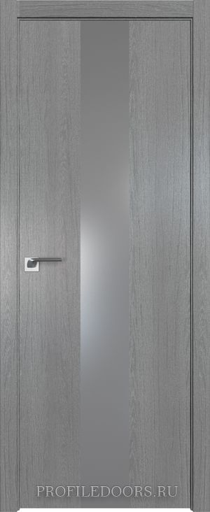 25ZN Грувд серый Lacobel Серебряный лак ABS в цвет с 4-х сторон