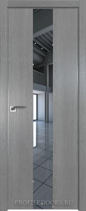 25ZN Грувд серый Зеркало Матовая с 4-х сторон