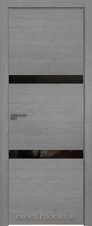 30ZN Грувд серый Lacobel Черный лак Матовая с 4-х сторон