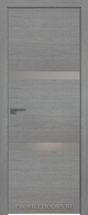 30ZN Грувд серый Lacobel Серебряный лак Матовая с 4-х сторон