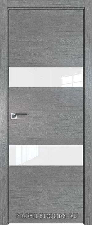34ZN Грувд серый Lacobel Белый лак Black Edition с 4-х сторон
