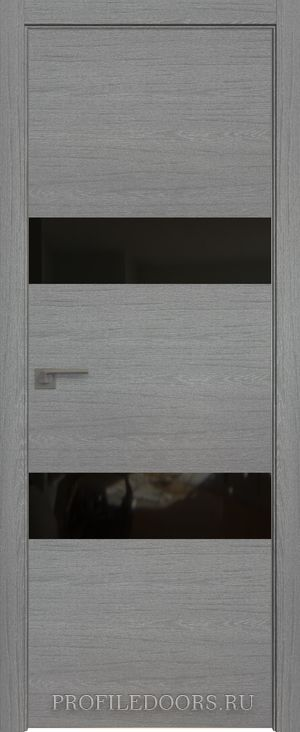 34ZN Грувд серый Lacobel Черный лак Матовая с 4-х сторон
