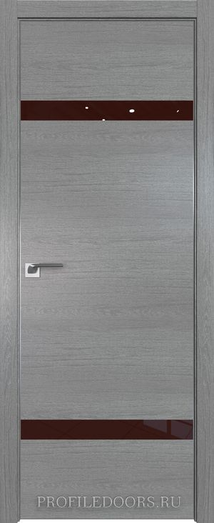 3ZN Грувд серый Lacobel Коричневый лак Матовая с 4-х сторон