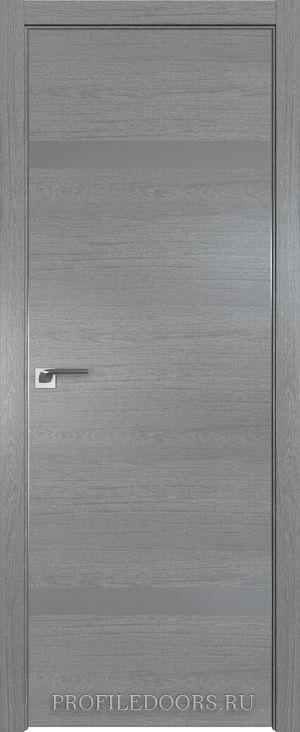 3ZN Грувд серый Lacobel Серебряный лак Матовая с 4-х сторон