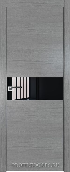 4ZN Грувд серый Lacobel Черный лак Матовая с 4-х сторон