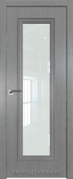 51ZN Грувд серый Lacobel Белый лак в цвет двери ABS в цвет с 4-х сторон