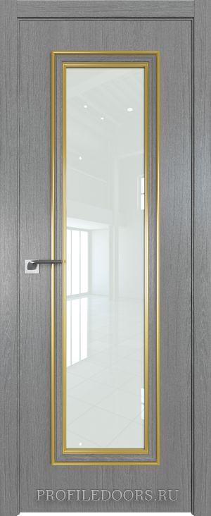 51ZN Грувд серый Lacobel Белый лак Золото ABS в цвет с 4-х сторон