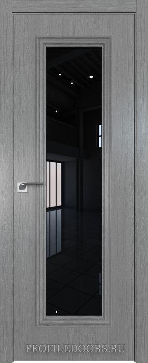 51ZN Грувд серый Lacobel Черный лак в цвет двери ABS в цвет с 4-х сторон