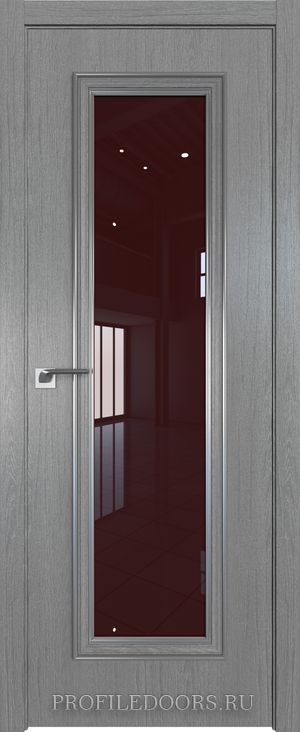 51ZN Грувд серый Lacobel Коричневый лак Серебро ABS в цвет с 4-х сторон