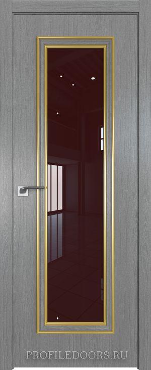 51ZN Грувд серый Lacobel Коричневый лак Золото ABS в цвет с 4-х сторон