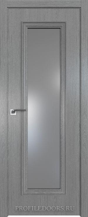 51ZN Грувд серый Lacobel Серебряный лак в цвет двери ABS в цвет с 4-х сторон
