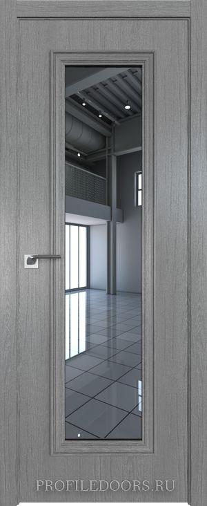 51ZN Грувд серый Зеркало в цвет двери ABS в цвет с 4-х сторон