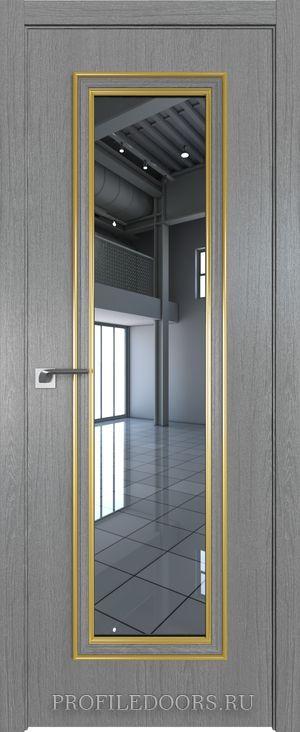 51ZN Грувд серый Зеркало Золото ABS в цвет с 4-х сторон