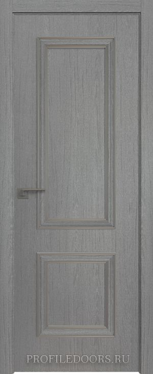 52ZN Грувд серый Серебро ABS в цвет с 4-х сторон