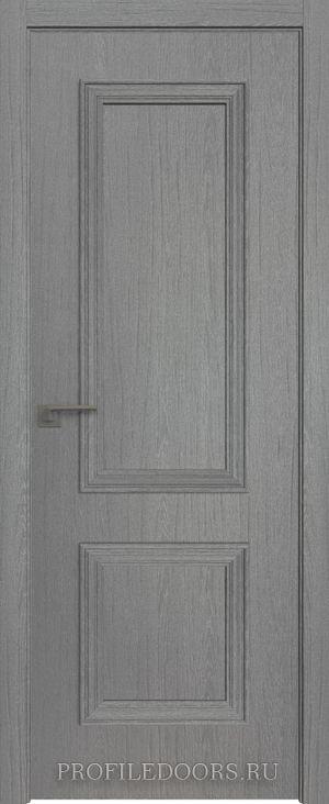52ZN Грувд серый в цвет двери ABS в цвет с 4-х сторон