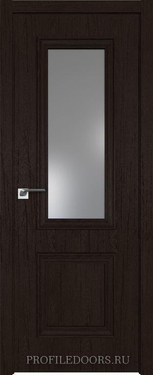 53ZN Дарк браун Lacobel Серебряный лак в цвет двери ABS в цвет с 4-х сторон