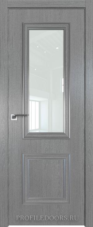 53ZN Грувд серый Lacobel Белый лак Серебро ABS в цвет с 4-х сторон