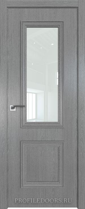 53ZN Грувд серый Lacobel Белый лак в цвет двери ABS в цвет с 4-х сторон