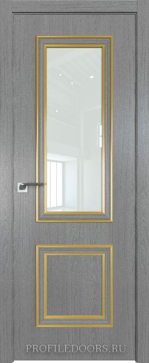53ZN Грувд серый Lacobel Белый лак Золото ABS в цвет с 4-х сторон