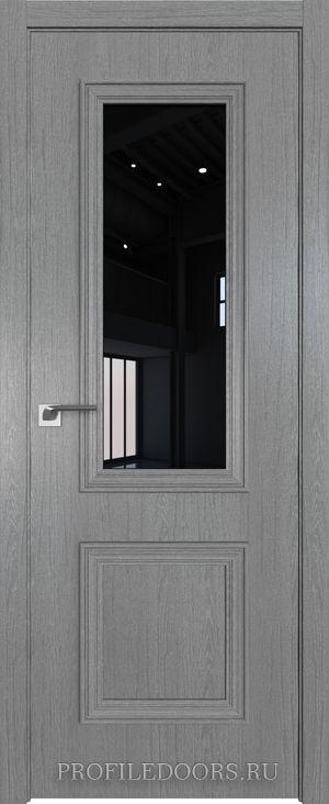 53ZN Грувд серый Lacobel Черный лак в цвет двери ABS в цвет с 4-х сторон