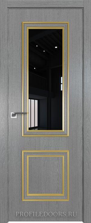 53ZN Грувд серый Lacobel Черный лак Золото ABS в цвет с 4-х сторон