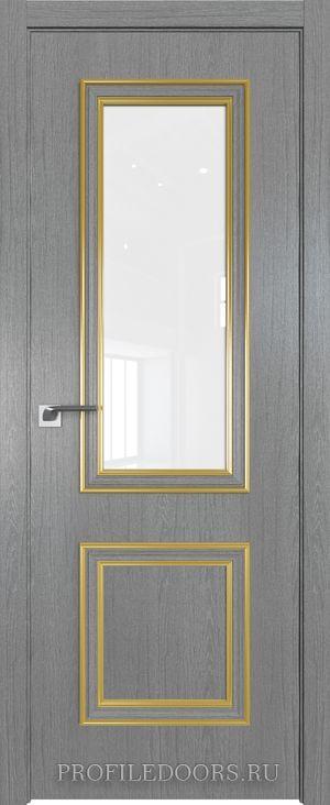 53ZN Грувд серый Лак классик Золото ABS в цвет с 4-х сторон