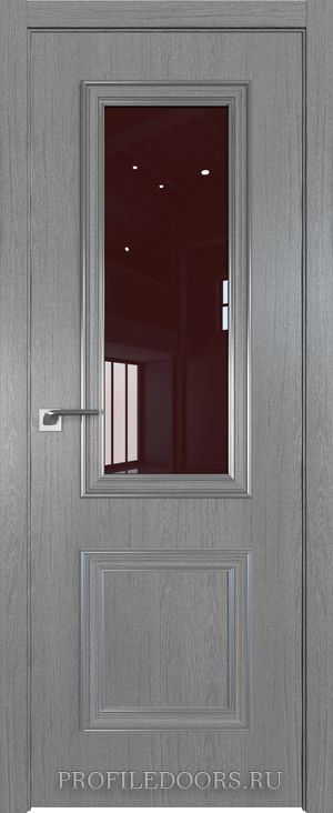 53ZN Грувд серый Lacobel Коричневый лак Серебро ABS в цвет с 4-х сторон