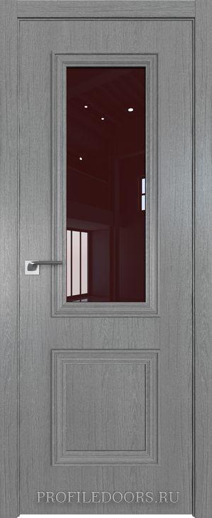 53ZN Грувд серый Lacobel Коричневый лак в цвет двери ABS в цвет с 4-х сторон