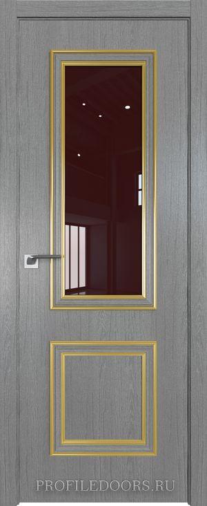 53ZN Грувд серый Lacobel Коричневый лак Золото ABS в цвет с 4-х сторон