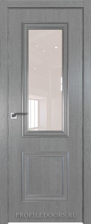 53ZN Грувд серый Lacobel Перламутровый лак Серебро ABS в цвет с 4-х сторон