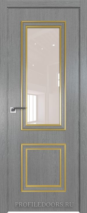 53ZN Грувд серый Lacobel Перламутровый лак Золото ABS в цвет с 4-х сторон