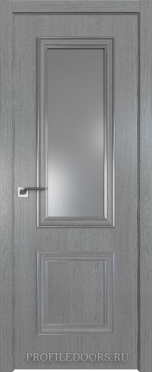 53ZN Грувд серый Lacobel Серебряный лак Серебро ABS в цвет с 4-х сторон