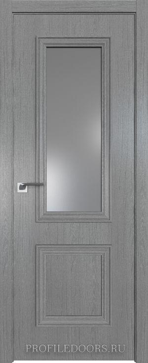 53ZN Грувд серый Lacobel Серебряный лак в цвет двери ABS в цвет с 4-х сторон