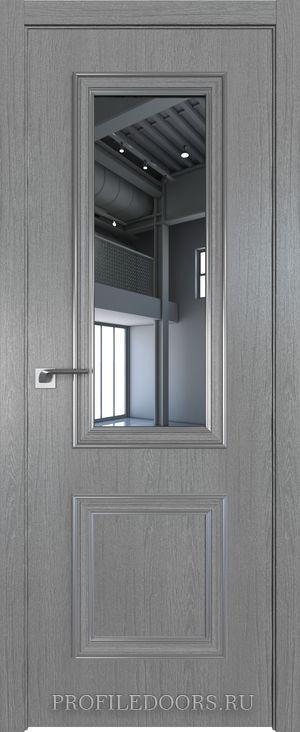 53ZN Грувд серый Зеркало Серебро ABS в цвет с 4-х сторон