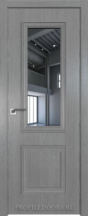 53ZN Грувд серый Зеркало в цвет двери ABS в цвет с 4-х сторон