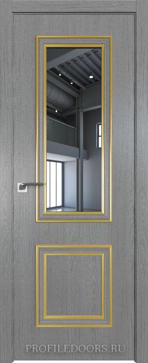 53ZN Грувд серый Зеркало Золото ABS в цвет с 4-х сторон