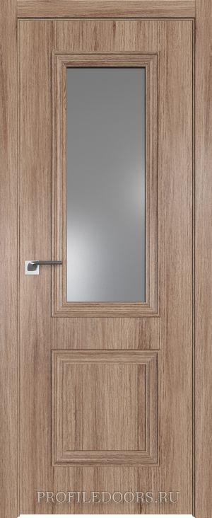53ZN Салинас светлый Lacobel Серебряный лак в цвет двери ABS в цвет с 4-х сторон