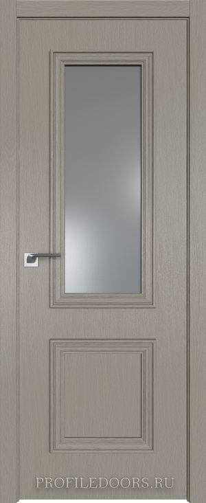 53ZN Стоун Lacobel Серебряный лак в цвет двери ABS в цвет с 4-х сторон