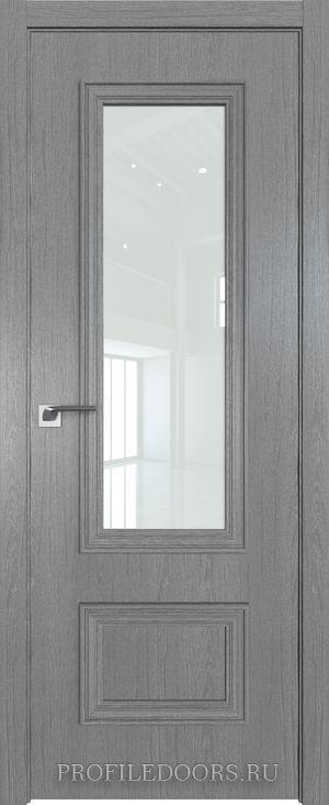 59ZN Грувд серый Lacobel Белый лак в цвет двери ABS в цвет с 4-х сторон