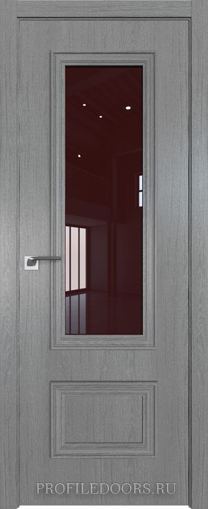 59ZN Грувд серый Lacobel Коричневый лак в цвет двери ABS в цвет с 4-х сторон