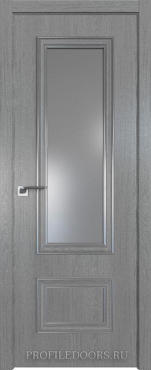 59ZN Грувд серый Lacobel Серебряный лак Серебро ABS в цвет с 4-х сторон